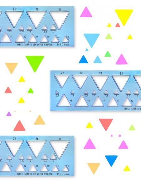 Ortografo figure geometriche per Triangoli modello M505pa Antica Fabbrica Vittorio Martini emozionale