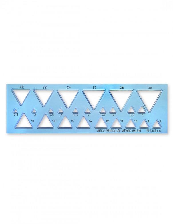 Ortografo figure geometriche per Triangoli modello M505pa Antica Fabbrica Vittorio Martini