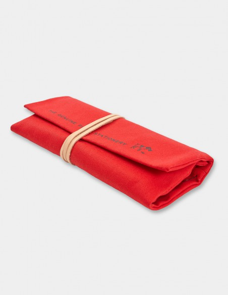 Astuccio arrotolabile Field Roll HIGHTIDE rosso