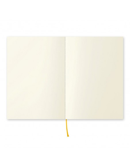 quaderno MD PAPER Notebook  A5 Blank vista pagine aperte