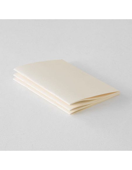 quaderni MD PAPER Notebook Light A 5 Gridded confezione da 3 pezzi vista d'insieme