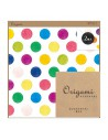 carta origami acquerello MIDORI CHOTTO Watercolor Dots vista confezione