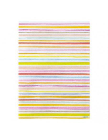 Bustine GLASSINE BAG Chotto Midori Watercolor Border Pink taglia SMALL adatto anche per alimenti vista frontale
