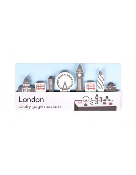 segnalibri adesivi London Duncan Shotton confezione