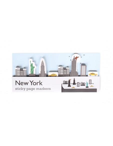 segnalibri adesivi New York Duncan Shotton confezione