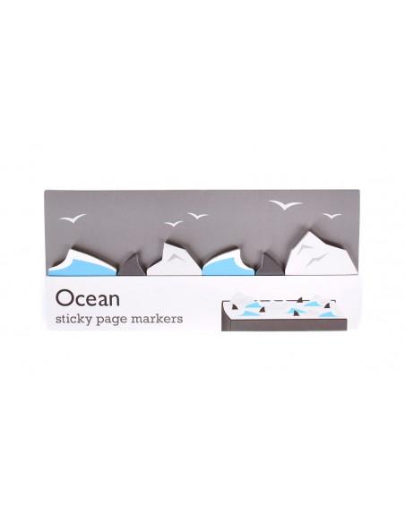 segnalibri adesivi Ocean Duncan Shotton confezione