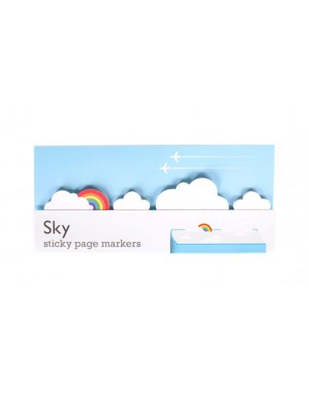 segnalibri adesivi Sky Duncan Shotton confezione