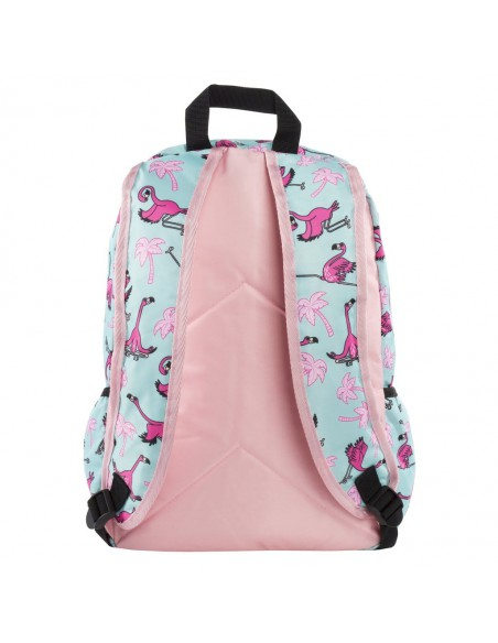 zaino impermeabile waterproof backpacks FLAMINGO con tasca interna per computer portatile ipad e tablet retro