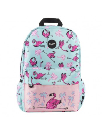 zaino impermeabile waterproof backpacks FLAMINGO con tasca interna per computer portatile ipad e tablet vista frontale