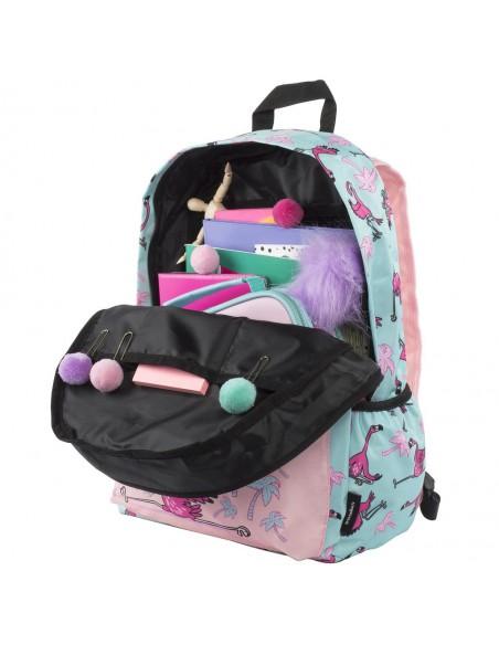 zaino impermeabile waterproof backpacks FLAMINGO con tasca interna per computer portatile ipad e tablet vista interna