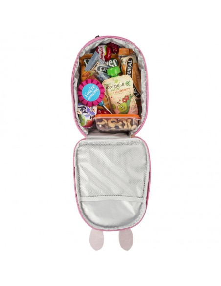 porta merenda termico per bambini BUNNY & CARROT vista interna
