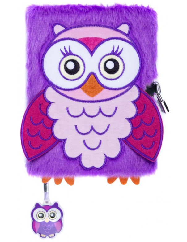 Diario segreto di peluche 3D OWL copertina