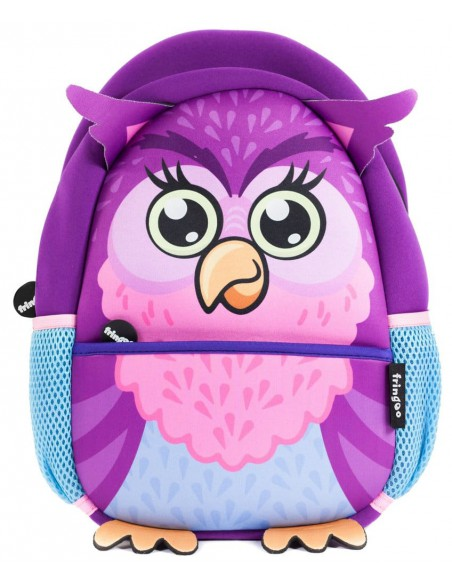 zainetto in neoprene OWL vista frontale