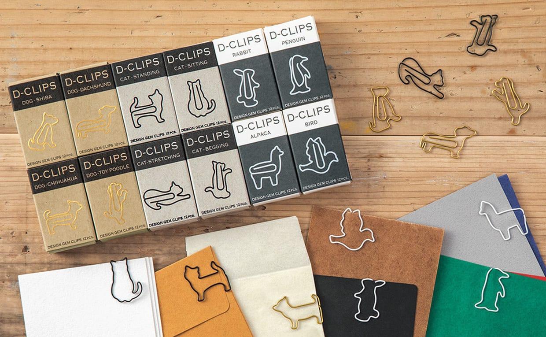 Graffette D-Clips Mini modelli disponibili